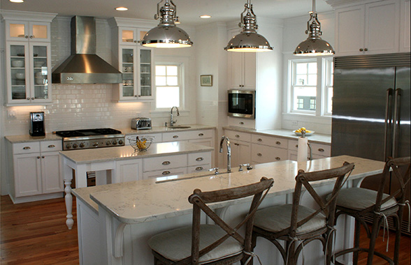Stainless Steel Kitchen International Bath Remodeling Showroom Licensed General Contractors